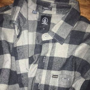 Mens grey flannel size small